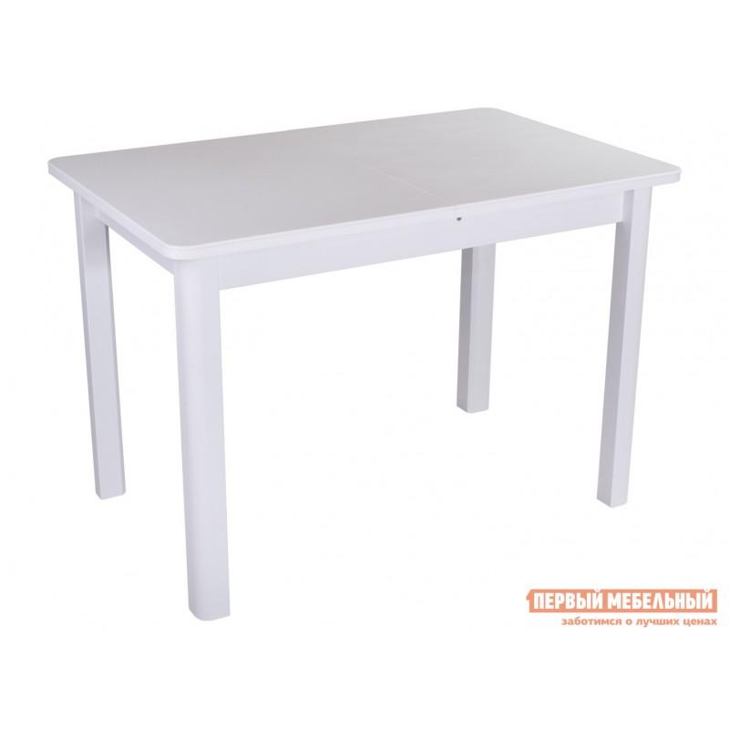 Кухонный стол  Обеденный стол Румба ПР КМ, ПР-1 КМ Белый 04 / Белый БЛ, Средний
