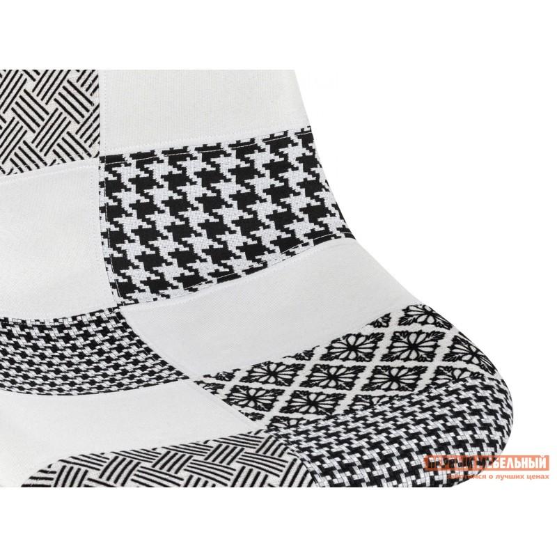 Стул  Стул EAMES Y808  Пэчворк черно-белый, шенилл (фото 7)