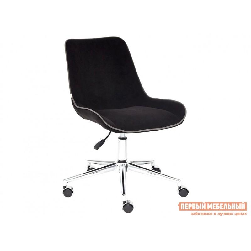 Офисное кресло  Кресло STYLE Флок / Черный / 35