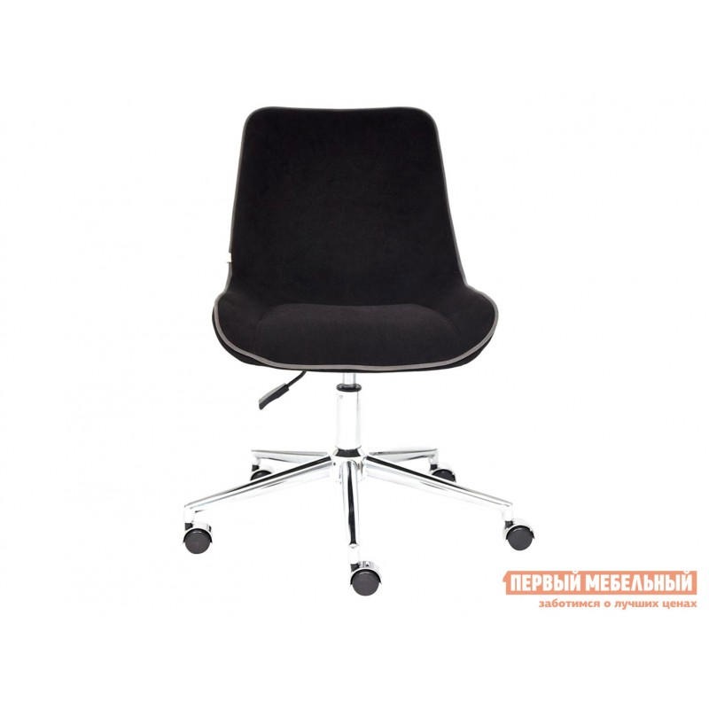 Офисное кресло  Кресло STYLE Флок / Черный / 35 (фото 2)