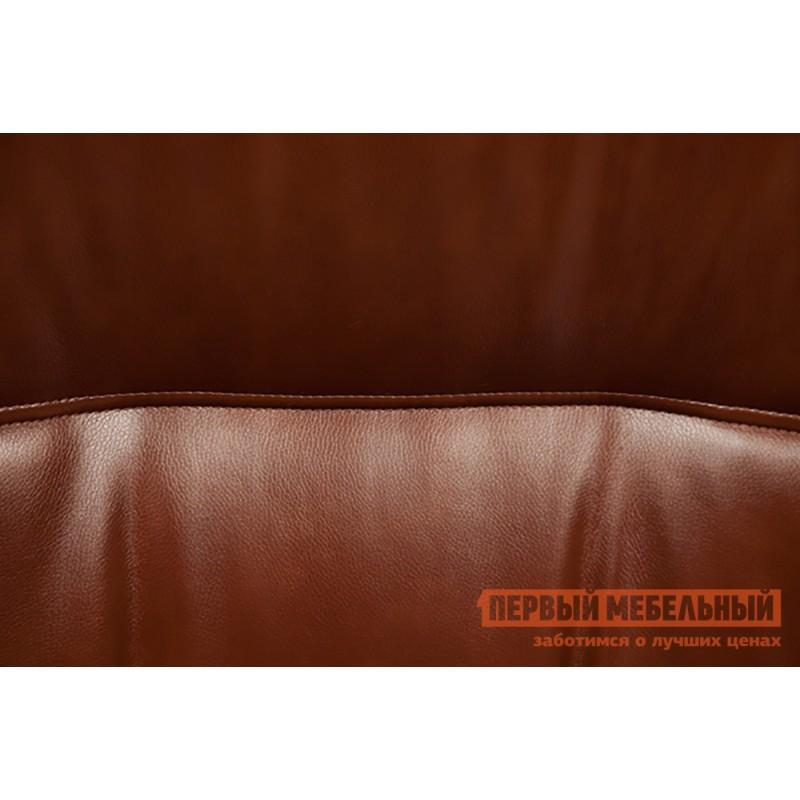 Кресло руководителя  Davos Иск. кожа коричневая 2 TONE (фото 5)