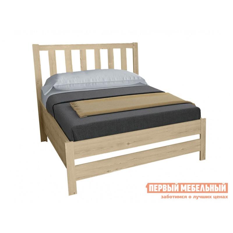 Односпальная кровать  Массив Натуральный, 1200 Х 2000 мм (фото 2)