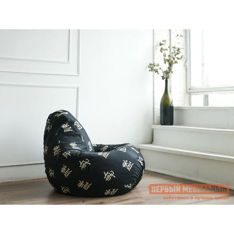 Кресло-мешок  Кресло Мешок Категория 3 жаккард Черный Дракон, XL (фото 2)