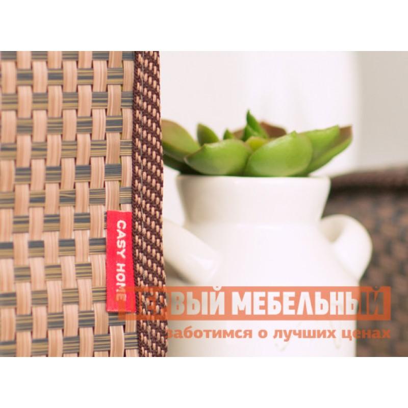 Аксессуары для сервировки и хранения  Салфетница 14х11х14см Коричневый, текстилен (фото 4)