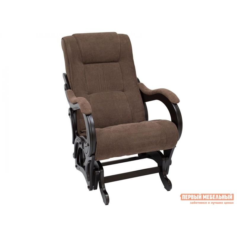 Кресло-качалка  Кресло-качалка Комфорт Модель 78 Венге, Verona Brown, велюр