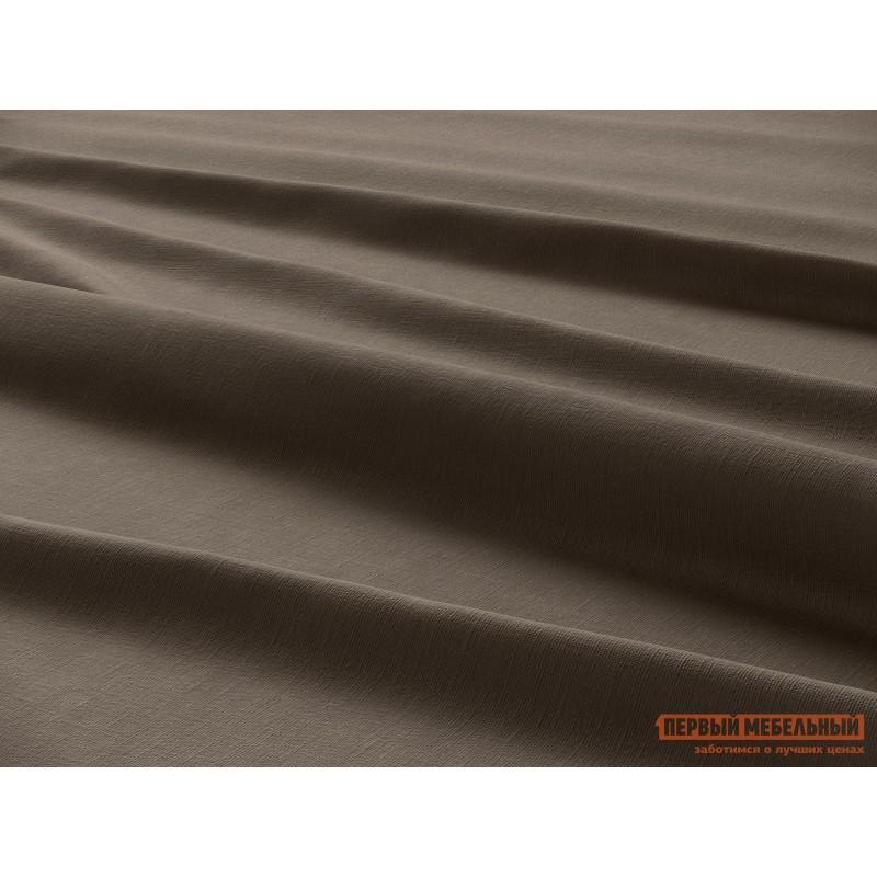 Комплект постельного белья  КПБ сатин однотонный (шоколад ОСНОВА СНОВ) Шоколадный, сатин, Полутороспальный (фото 4)