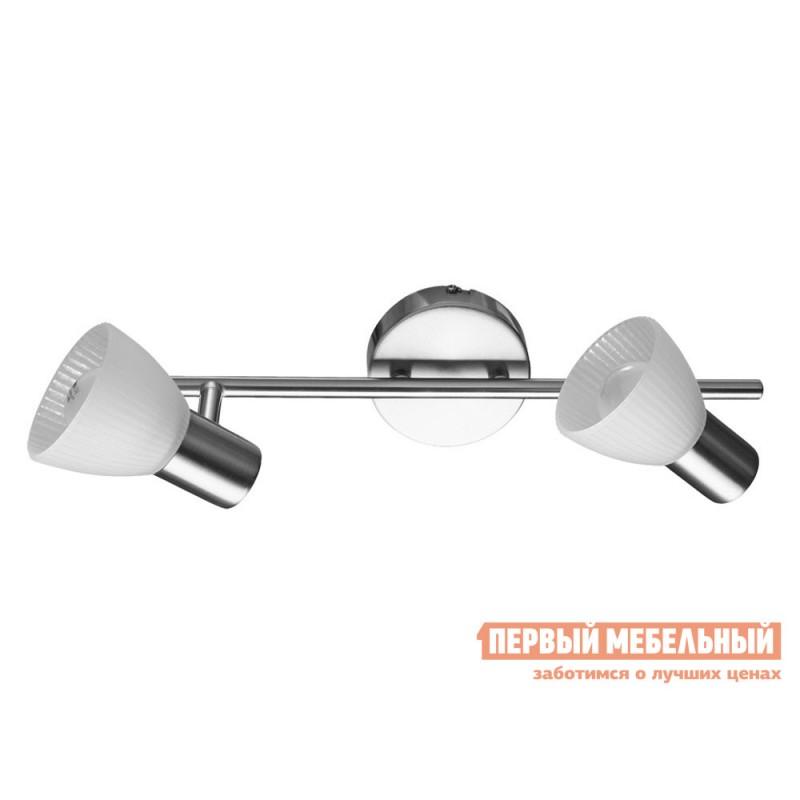 Бра  Спот PARRY A5062AP-2SS Матовое серебро / Белый
