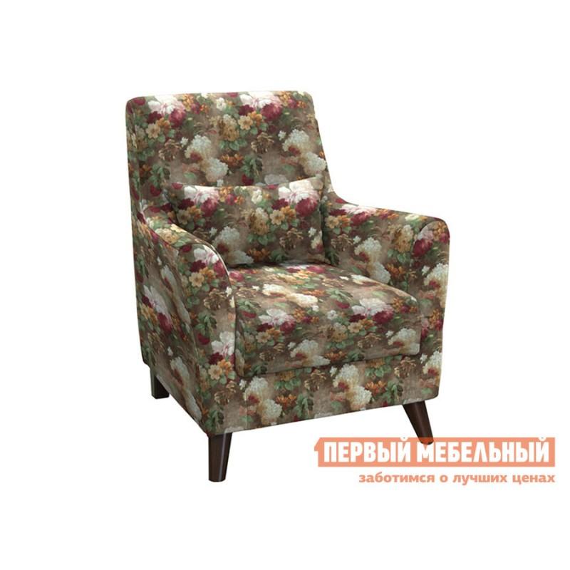 Кресло  Кресло Либерти Яркие цветы, велюр