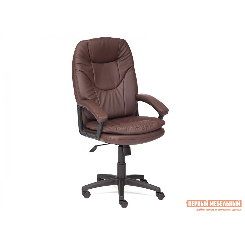 Кресло руководителя  COMFORT LT Иск.кожа коричневая PU 36-36