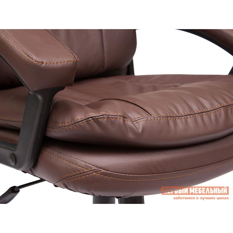 Кресло руководителя  COMFORT LT Иск.кожа коричневая PU 36-36 (фото 5)