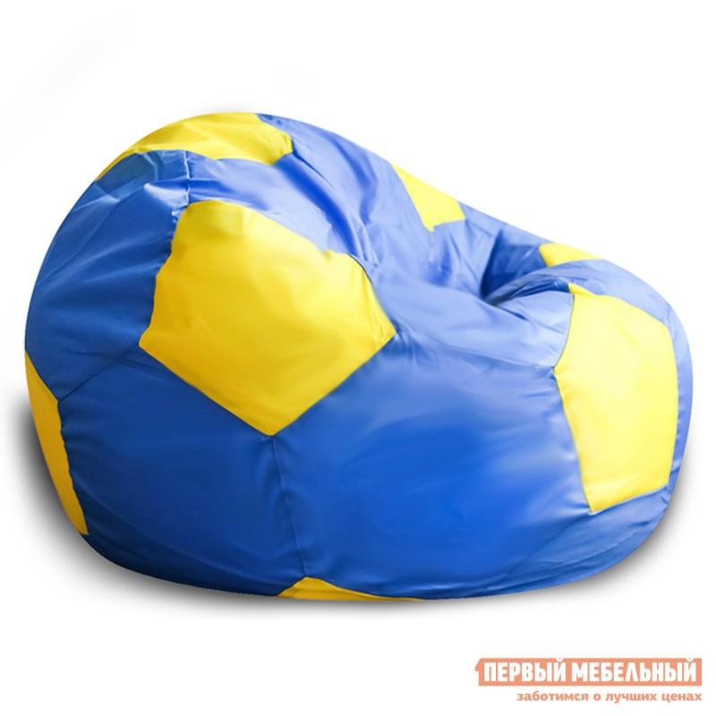 Кресло-мешок  Кресло-мешок Мяч Сине-желтый